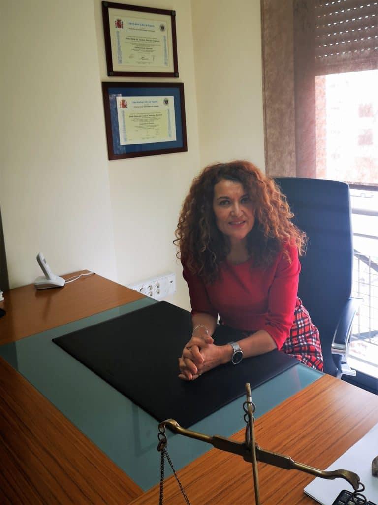 Carmen Manzano, abogada que consiguió sentencia pionera sobre custodia compartida.